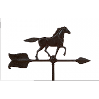 shed option weathervane horse 0