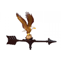 shed option weathervane painted eagle 0