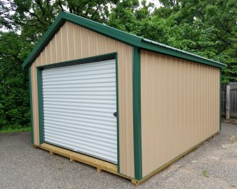 steel garage shed quote