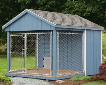 regular dog kennel
