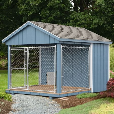 regular dog kennel