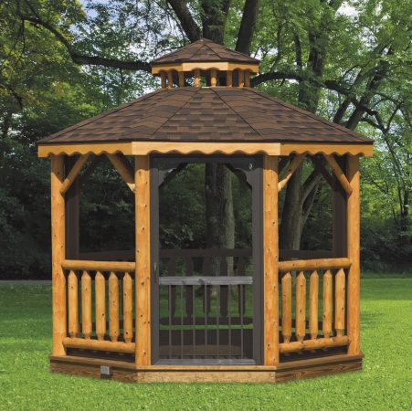 log gazebo quote