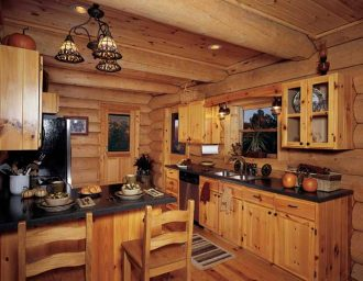 rustic decor cabinets