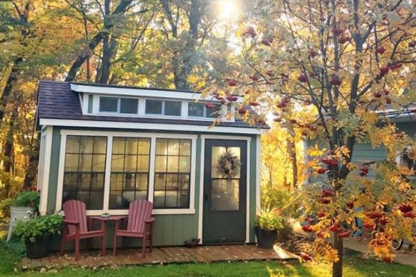 sunroom she shed for sale northwood
