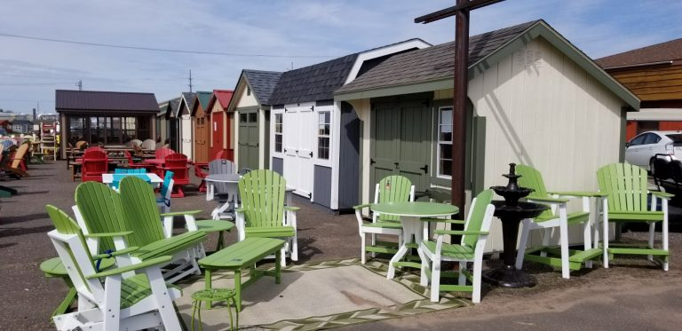northwood outdoor hayward wisconsin sheds furniture store