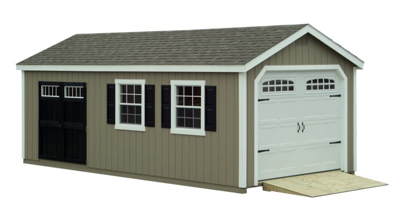 This classic garage would make a beautiful addition to any home in Minneapolis or Saint Paul Minnesota