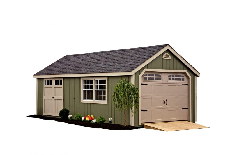 This cape cod garage is full of class and style, and will give you long lasting durable storage in Minneapolis, Minnesota.