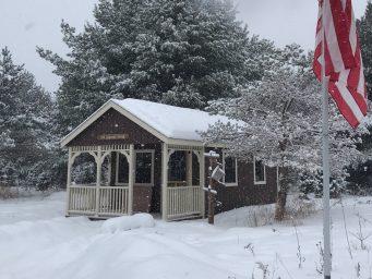 prefab cabin shed for sale in spooner wisconsin