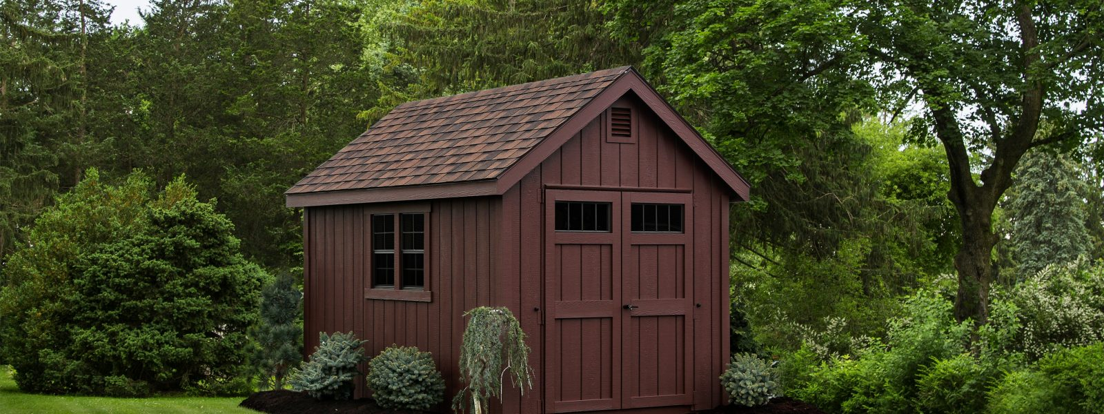 classic storage shed in duluth minnesota