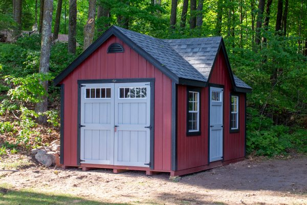 classic shed by the lake in hayward wisconsin