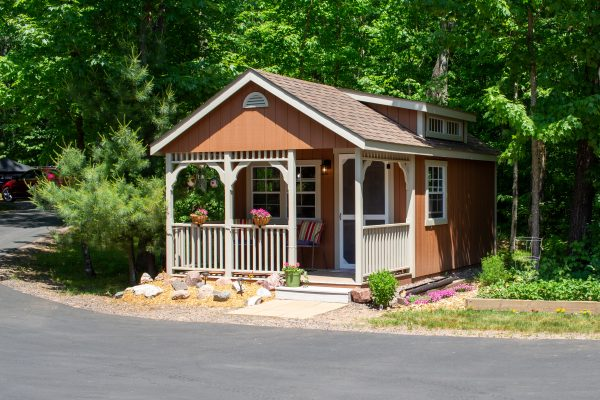 cape cod prefab cabin shed for sale in Wisconsin