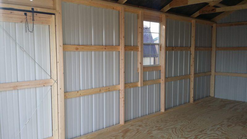 steel garage in Eau Claire Wisconsin