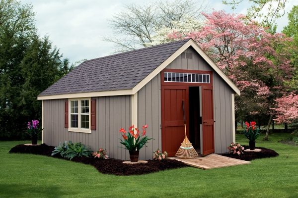 classic wood storage buildings with ramp for sale by shed company in cable wisconsin