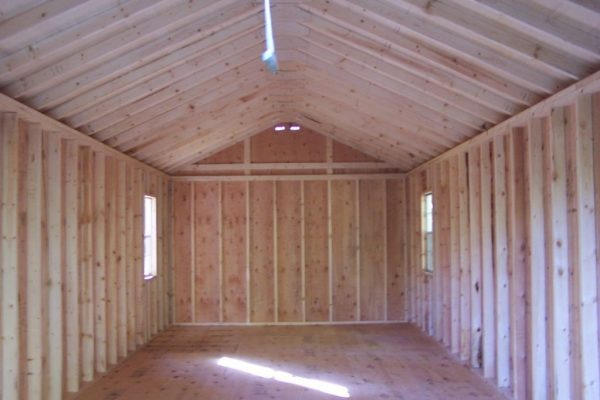 interior of classic storage buildings for sale in minnesota