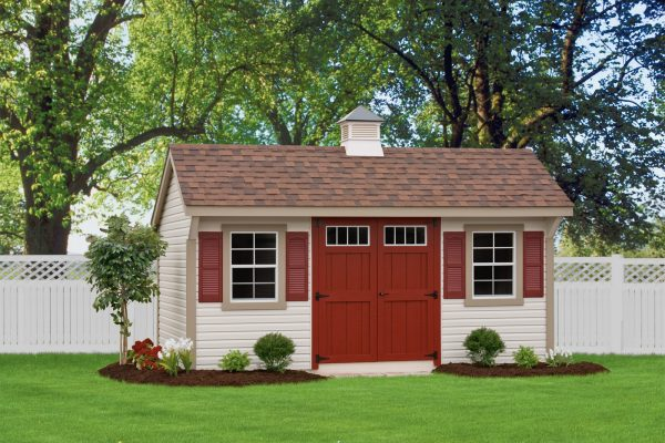 quaker shed for portable self storage in edina minnesota