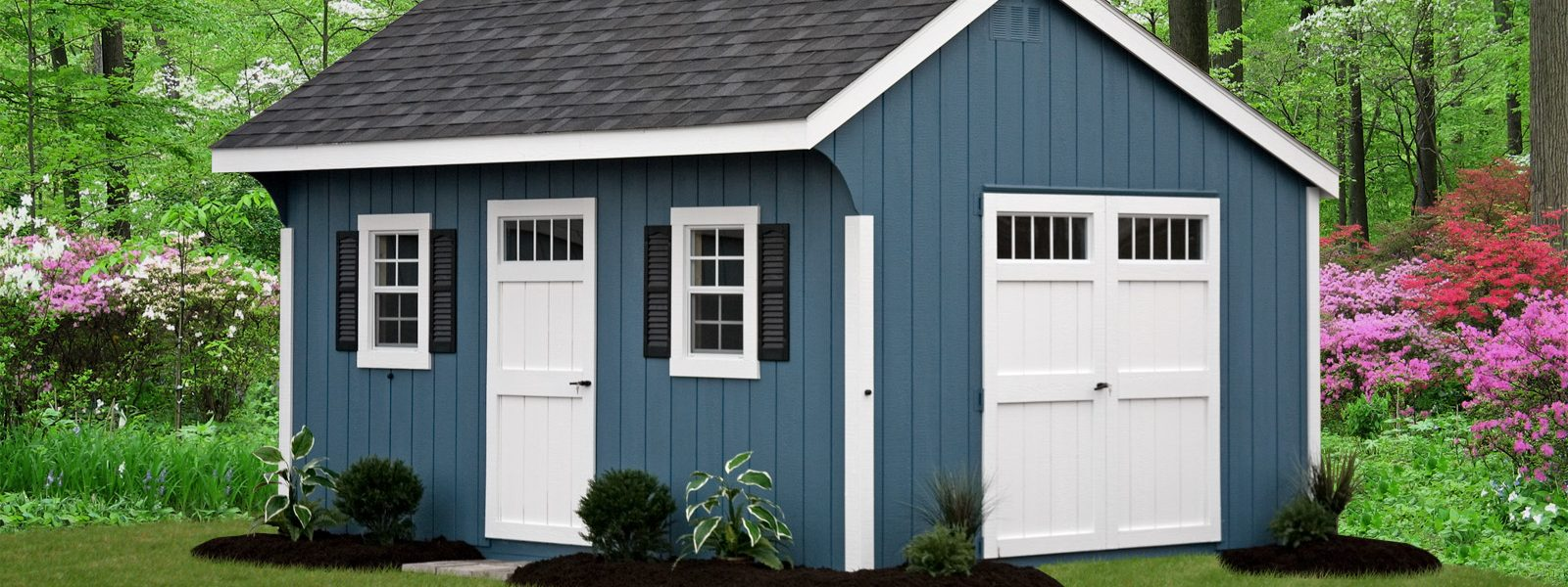 quaker shed with double doors for sale in cross lake minnesota