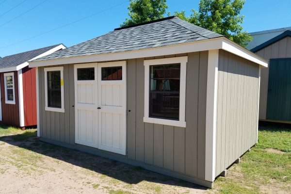 villa outdoor shed at northwood industries shed company lot