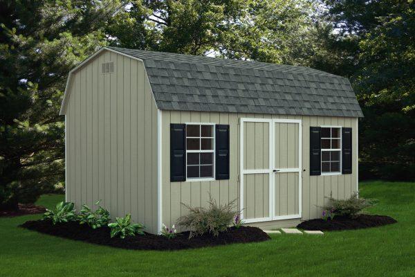 wood 10x16 storage barn dutch style for sale in st paul minnesota