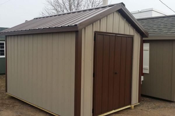 8x12 steel garden shed for sale in edina minnesota
