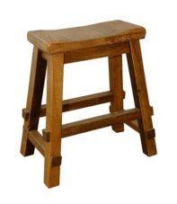 barnwood mission saddle stool