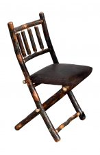 folding chair upholstered seat