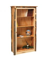 Hickory book case 3 shelves