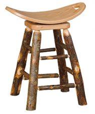 swivel saddle stool