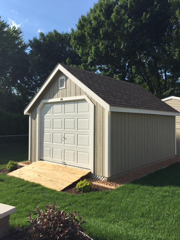 Classic Prefab Garage Buy A Garage Shed In Mn And Wi