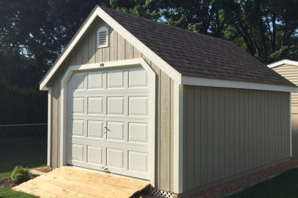classic prefab garage shed for sale in minneapolis minnesota by shed company