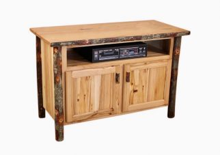 Hickory Storage TV Stand