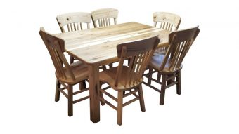 hillside hickory dining table