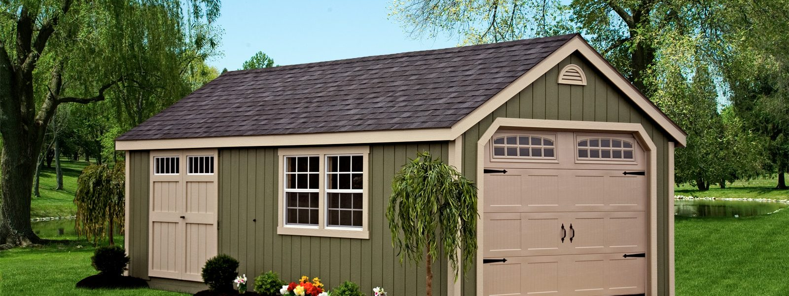 Prefab Garages Amish Made Prefab Garages For Sale Cape Cod Garage