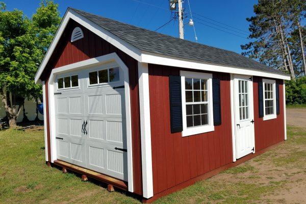 prefab garages northwood industries cape cod garage with overhead door st paul minnesota