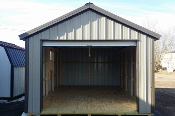 12x20 steel garage shed for sale in hayward wisconsin bargain sheds company
