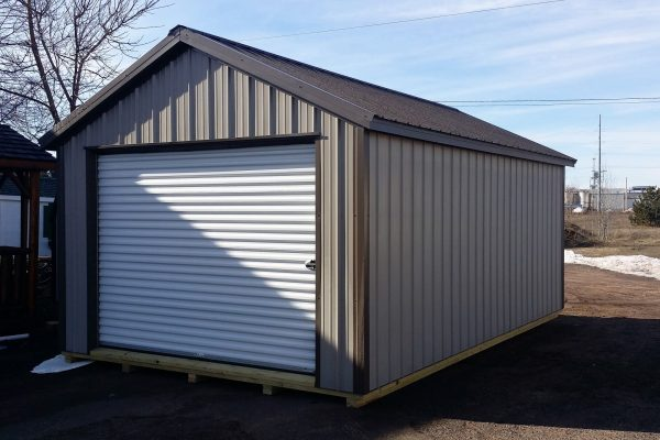 northwood industries steel garage storage shed for sale in minnesota