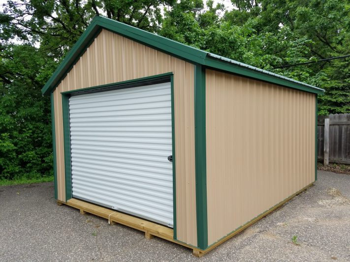 northwood industries steel garage storage shed for sale in wisconsin