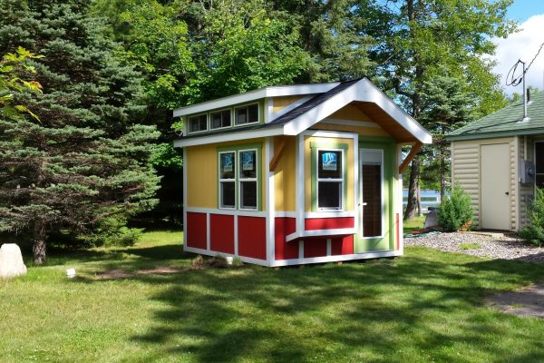 bunkhouse for vacation cabin in minneapolis minnesota