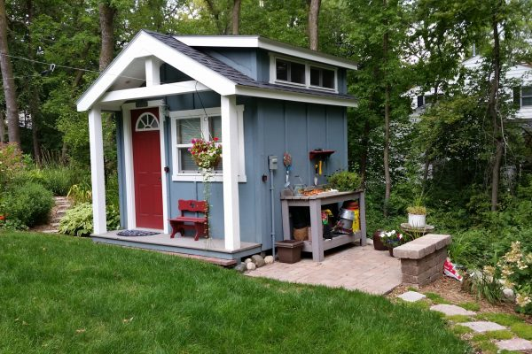 bunkhouse for vacation home near madeline island wisconsin