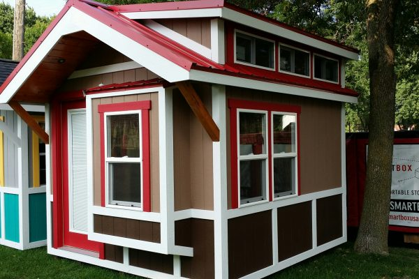 portable bunkhouse for vacation property cross lake minnesota