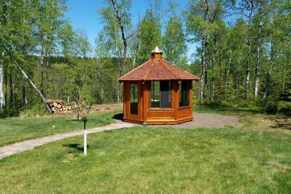 northwood industries royal cedar gazebo for sale in hayward wisconsin