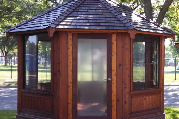 northwood industries royal cedar gazebo for sale in madeline island wisconsin