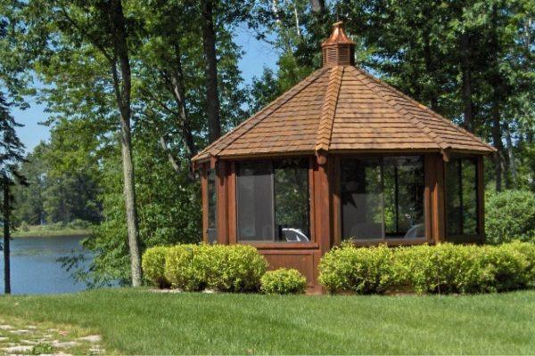 northwood industries royal cedar gazebo for sale in midwest