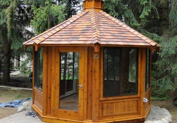 northwood industries royal cedar gazebo for sale in minneapolis minnesota