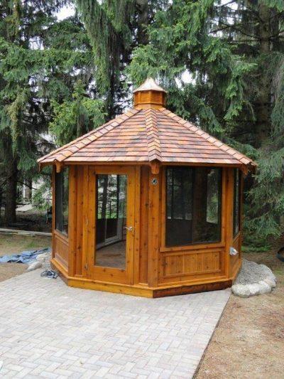 northwood industries royal cedar gazebo for sale in minneapolis minnesota