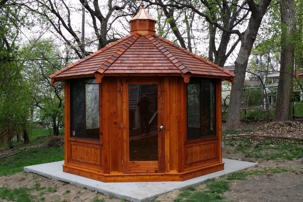 northwood industries royal cedar gazebo for sale in minnesota