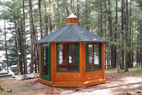 northwood industries royal cedar gazebo for sale in mounds view minnesota