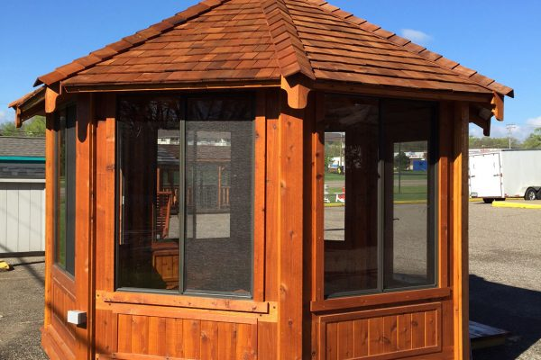 northwood industries royal cedar gazebo for sale in northern michigan