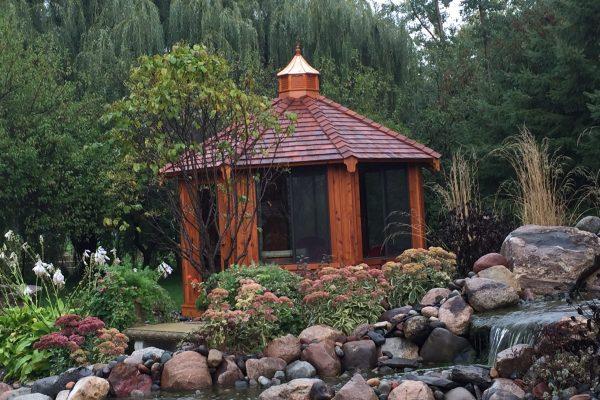 northwood industries royal cedar gazebo for sale near twin cities minnesota