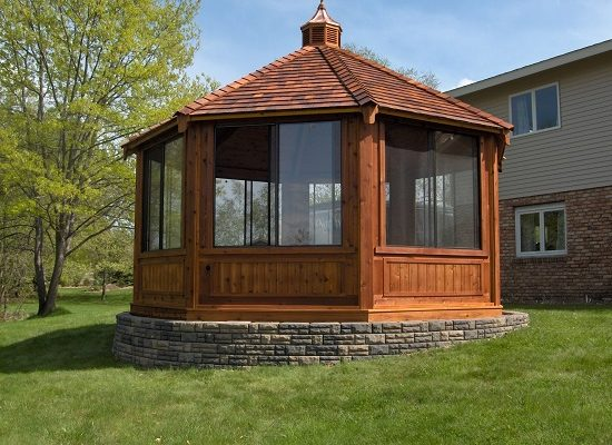 northwood industries royal cedar gazebo for sale north shore lake superior