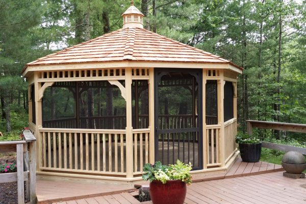 northwood industries screened in gazebo for sale in minnesota and wisconsin